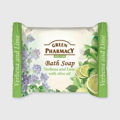 GREEN PHARMACY SOAP VERBENA AND LIME WITH OLIVE OIL 100 G.
