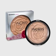 INGRID COSMETICS SHIMMER POWDER HD BEAUTY 25G.