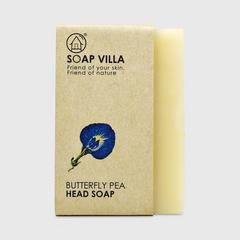 Soap Villa Natural Shampoo Bar - Butterfly Pea (Anchan) 100g