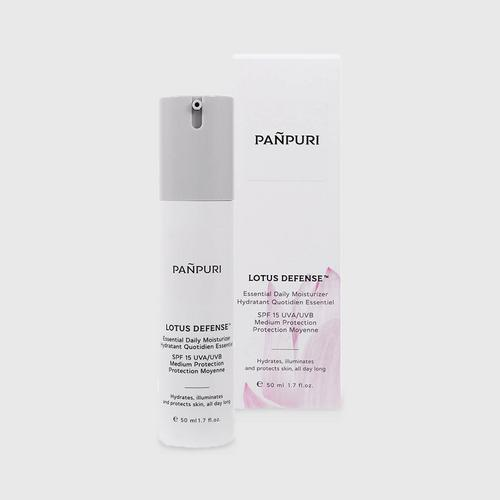Pañpuri LOTUS DEFENSE™ ESSENTIAL DAILY MOISTURIZER BROAD SPECTRUM SPF 15 UVA/UVB 50毫升