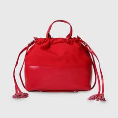 THEOREM ELLIPSE CROSSBODY BAG RED COLOUR