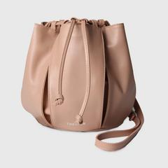 THEOREM VOLUME CROSSBODY BAG NUDE COLOUR