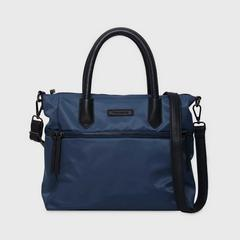 THEOREM POLY BOSTON HANDBAG NAVY COLOUR
