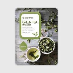 seaNtree Sheet面膜綠茶提取物20毫升