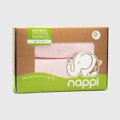 NAPPI BABY  一次性无纺布竹30寸-粉紅色 (包 2)