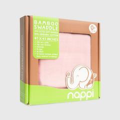 NAPPI BABY 用竹纖維包裹的蝦47粉紅色(包 1)
