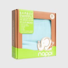 NAPPI BABY 用竹纖維包裹的蝦47天藍  (包 1)