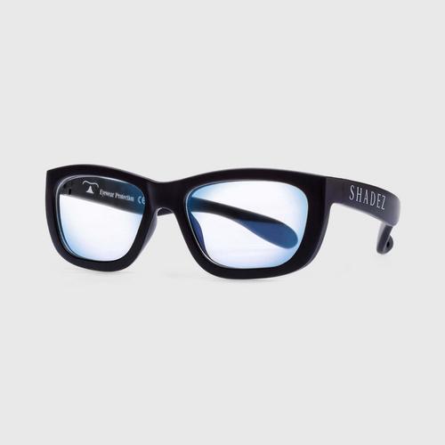 适用于7-16岁儿童的Shadez Blue Light Blue光学太阳镜Blue Ray Black Teeny