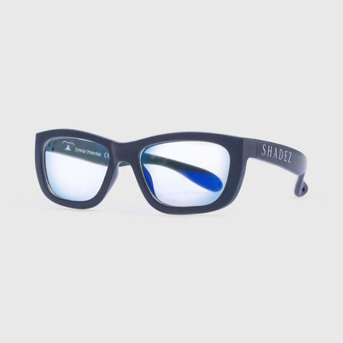 适用于儿童的Shadez蓝色浅灰色光学太阳镜7-16 Blue Ray Grey Teeny