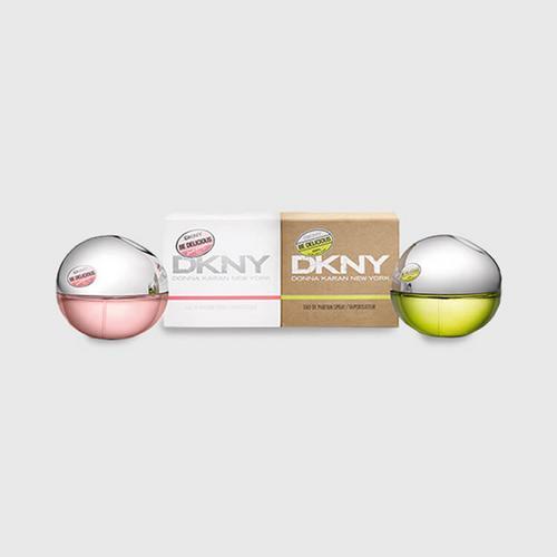 DKNY绿苹果和粉恋苹果女士香氛2支装
