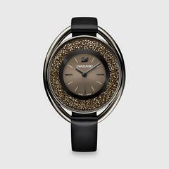 SWAROVSKI 施华洛世奇 Crystalline Oval 铁黑色 手表
