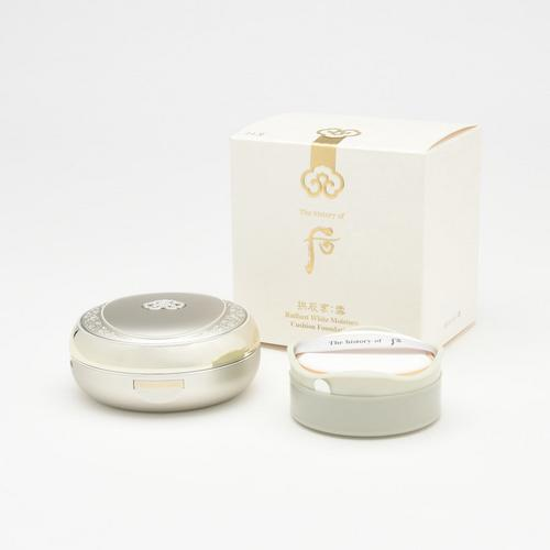 THE HISTORY OF WHOO Seol Whitening & Moisture Glow Cushion (No.21)2x15 g
