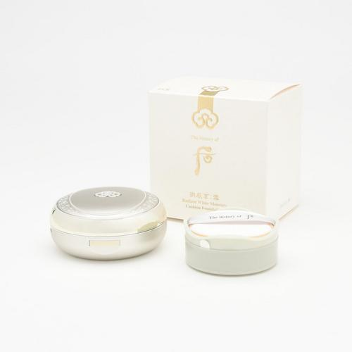 THE HISTORY OF WHOO Seol Whitening & Moisture Glow Cushion(No.23)2x15 g