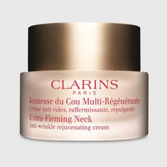 Clarins Extra-Firming Neck Anti-Wrinkle Rejuvenating Cream 75ml