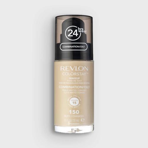 露华浓 REVLON 持久无瑕水润粉底液 - 油性肌肤配方 - 自然偏白 1.0 fl. oz./30 ml.