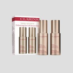 CLARINS Travel Exclusive Enhancing Eye Lift Serum Duo Set (2x15ml)