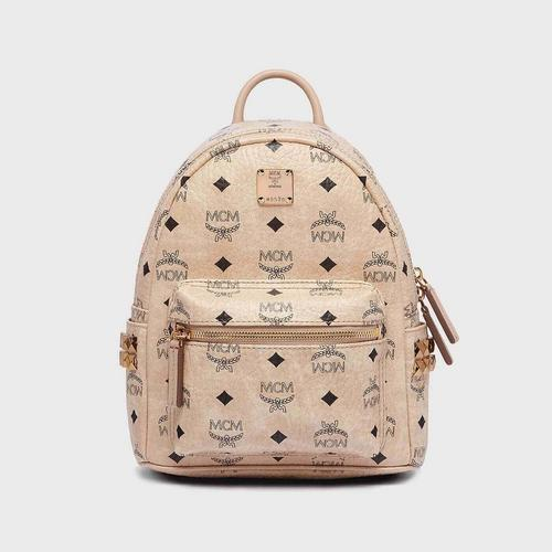 MCM MINI STARK BACKPACK - BEIGE