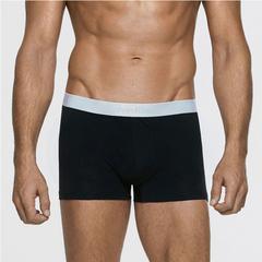 Calvin Klein Underwear Liquid Stretch Cotton 男士平角内裤黑色