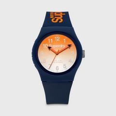 SUPERDRY URBAN LASER 系列表款 38MM (橙色) 石英表机芯