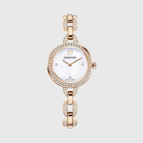 SWAROVSKI Aila Mini Watch, Metal bracelet, Rose gold tone SWAROVSKI Aila Mini Watch, Metal bracelet, Rose gold tone