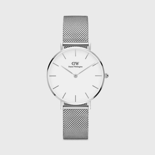 Daniel Wellington Sterling 32mm Silver White Dial