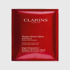 CLARINS Super Restorative Instant Lift Serum Mask (5Pcs)