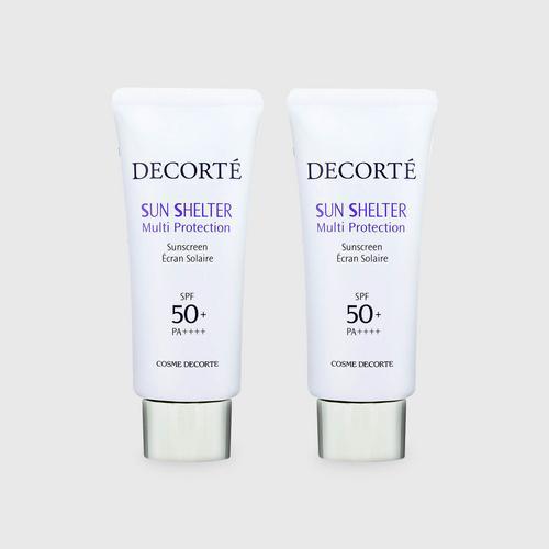 黛珂(COSME DECORTE)多重防晒乳 套装 (2 x 60毫升)