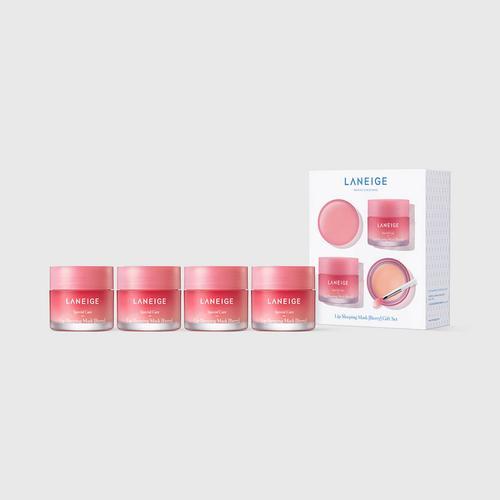 兰芝水润修护睡眠唇膜套组(Berry) 4 X 20克