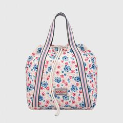 凯茜•琦丝敦(Cath Kidston)盛夏海岛之花搭扣背包- 奶油粉