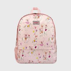 凯茜•琦丝敦(Cath Kidston)欢腾的小马印花儿童背包 带网眼口袋 均码-浅粉色