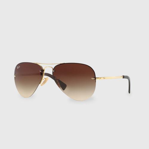 雷朋 (RAY-BAN) Metal Aviator Men Sunglasses 0RB3449 001/13  59 毫米
