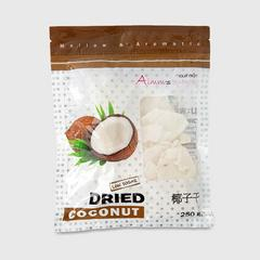AIMM'S SNACK DRIED COCONUT 250 G. (LOW SUGAR)
