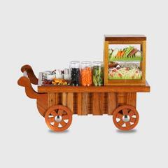 PRONPUN Miniature Push Cart - Papaya Salad