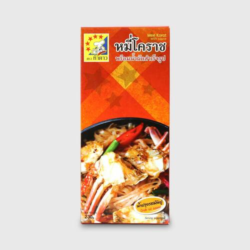 FIVE STARS Pad Mee Korat With Crab Oil Sauce 230 g