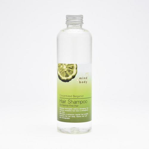 Mind & Body Concentrated Bergamot Hair Shampoo 265 ml.