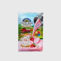 Heartmade Dairy Milk Tablets Strawberry Flavor  102.4 G.