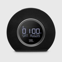JBL Horizon Black Bluetooth Clock Radio with USB Charging and Ambient Light