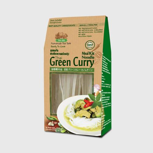 THAI AREE THAI GREEN CURRY NOODLE MEAL KIT 200 G.