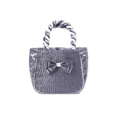 AIYA HANDBAG PLEAT(SATIN) GRAY PLEAT(SATIN) GRAY