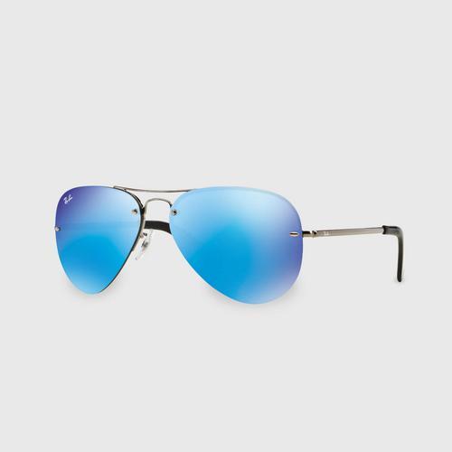 雷朋 (RAY-BAN) Aviator Men Sunglasses 0RB3449 004/55 59 毫米