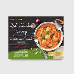 King Power Red Chicken Curry Jasmine Rice 350 g.