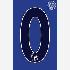 莱切斯特城足球俱乐部  球衣队服数字 烫画贴    0 号码