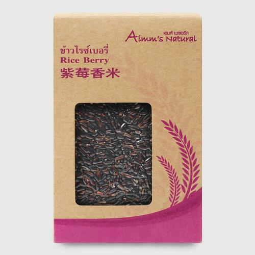 AIMM'S NATURAL Riceberry Rice 500 g
