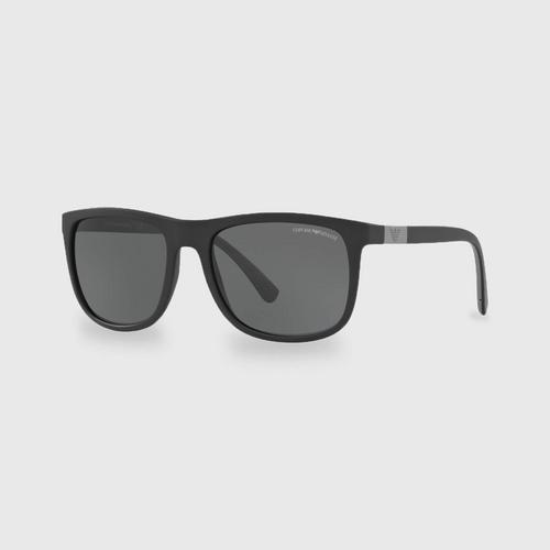 阿玛尼 Matte Black男士太阳眼镜 0EA4079 504287 (57毫米)
