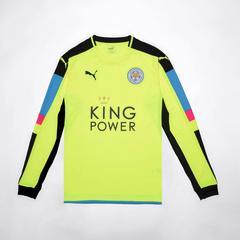 莱切斯特城足球俱乐部 守门员经典衣服  2016-2017 尺寸 S