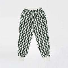 Voyage of Style Jogger裤 绿白色格子 S码