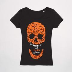 莱切斯特城足球俱乐部 #nofucHsgiven NFG Style Ladies Skull T恤衫女 骷髅图案 Size S (小号)