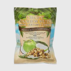 KING POWER RECIPE Crispy Cashew Nuts with Coconut Chips 150 g.