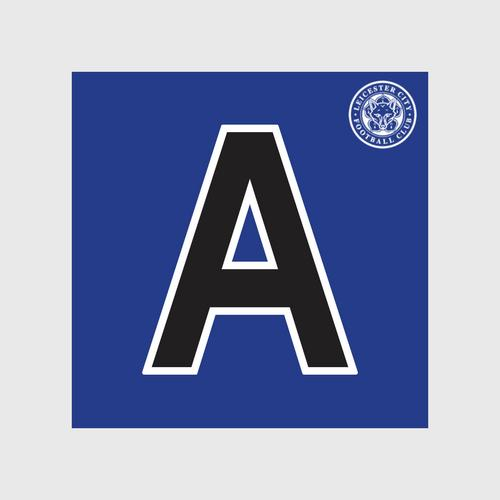 Leicester City Football Club Black Letter