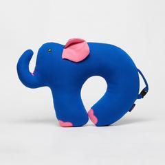 KING POWER MOMENT蓝色大象枕头